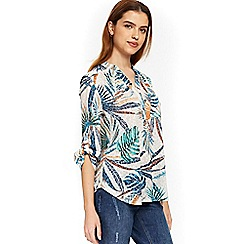Wallis - Sahara palm shirt