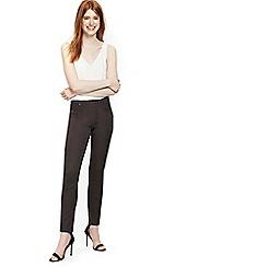 Wallis - Dark grey side zip trouser
