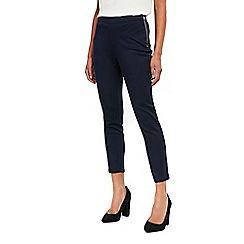 Wallis - Navy capri trouserss