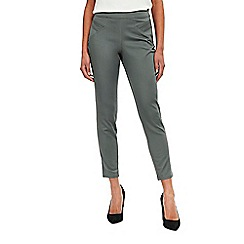 Wallis - Khaki capri trousers