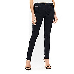 Wallis - Indigo studded pocket ellie skinny jeans