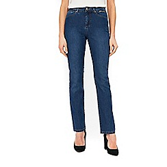 Wallis - Mid wash straight leg jeans