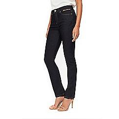 Wallis - Harper indigo straight leg jeans