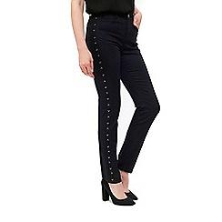 Wallis - Black lattice ellie jeans