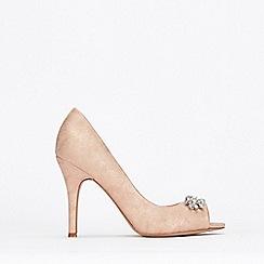 Wallis - Pale Pink Peeptoe Court Shoes