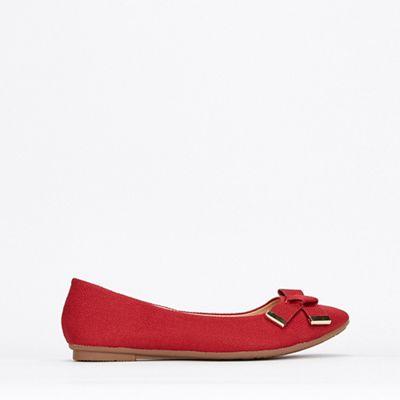 95a8fd20312 Wallis - Red Ballerina Shoes