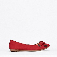 Wallis - Red Ballerina Shoes