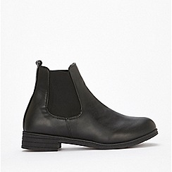 Wallis - Black Chelsea ankle boots