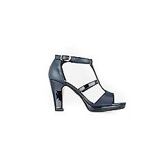 Wallis - Navy t bar sandal