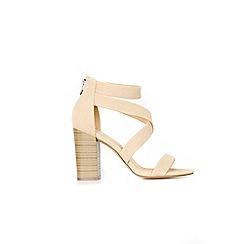 Wallis - Stone block heel sandal