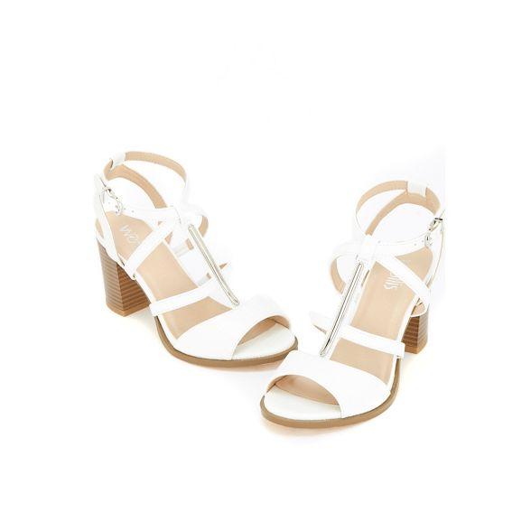 t bar White sandals multi Wallis strap xqFvwOd50
