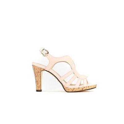 Wallis - Pale sandals pink cork platform strap sandals Pale 734b8e