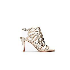 Wallis - Gold cage detail sandal