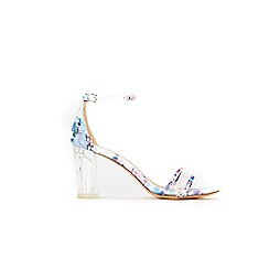 Wallis - Pale pink heeled sandals