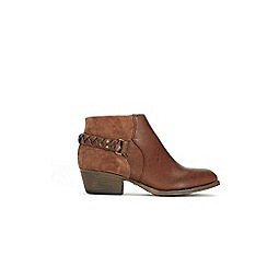 Wallis - Brown ankle boots