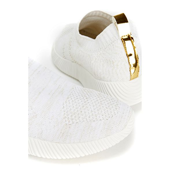 knitted trainers slip on Stone Wallis v4qzXX