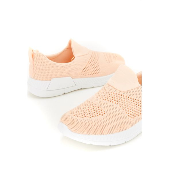 Peach trainers Peach knitted knitted Wallis Wallis trainers 7IIqfS8w
