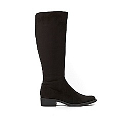 Wallis - Black knee high boots