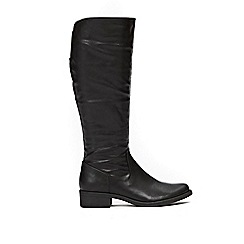Wallis - Black knee high boots