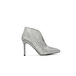 Wallis - Silver bootie