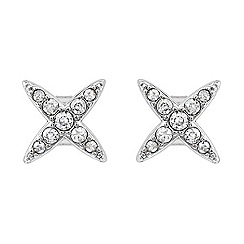 Adore - Star stud earring created with Swarovski crystals