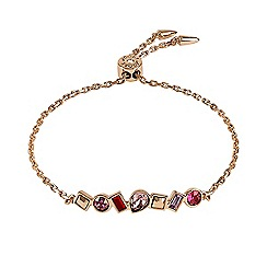 Adore - Multi shape toggle bracelet created with Swarovski crystals