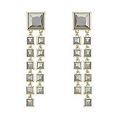 Principles by Ben de Lisi - Designer square waterfall earrings