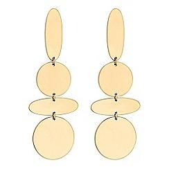 Principles by Ben de Lisi - Designer multi shape statement drop earrings
