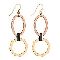 Principles by Ben de Lisi - Designer geometric link drop earrings