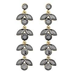 Principles by Ben de Lisi - Designer navette crystal drop earrings