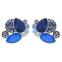 Principles - Designer crystal cluster stud earrings