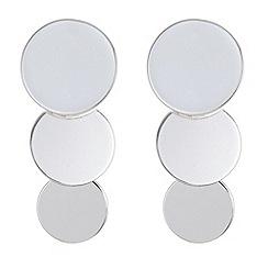 Principles - Designer disc drop earrings