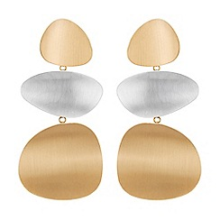 Principles - Designer organic drop earrings
