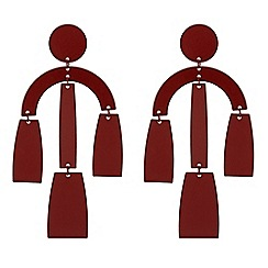 Principles - Designer multi shape drop earrings