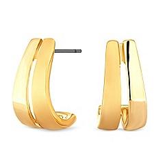 Principles - Designer curved stud earrings