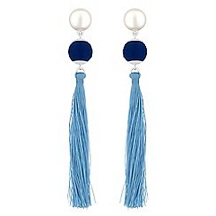 Principles - Designer tassel orb drop earrings