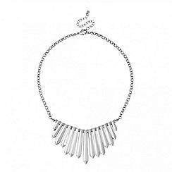 Principles by Ben de Lisi - Designer polished silver stick necklace