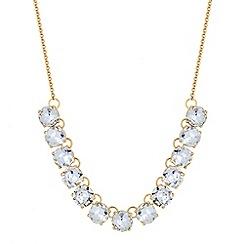 Principles by Ben de Lisi - Designer round crystal link necklace