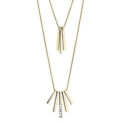 Principles by Ben de Lisi - Designer gold multi layer necklace