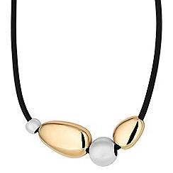 Principles by Ben de Lisi - Designer multi tone pebble necklace