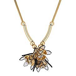 Principles by Ben de Lisi - Designer floral cluster necklace