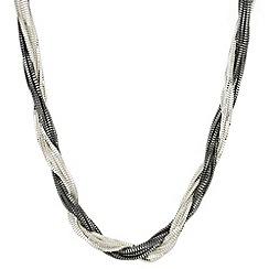 Principles by Ben de Lisi - Designer multi tone twisted chain necklace