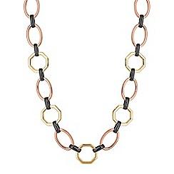 Principles by Ben de Lisi - Designer geometric link necklace