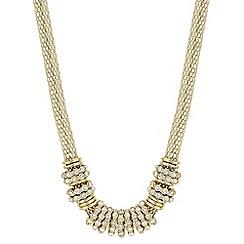 Principles - Crystal rhondel necklace