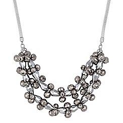 Principles by Ben de Lisi - Designer beaded cluster necklace