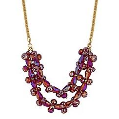 Principles by Ben de Lisi - Designer bead cluster necklace