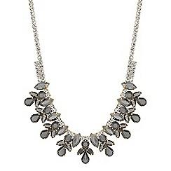 Principles by Ben de Lisi - Designer navette crystal necklace