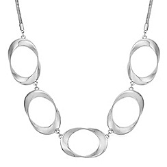 Principles - Designer oval twist necklace