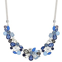 Principles - Designer crystal cluster necklace