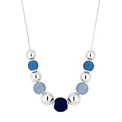 Principles - Designer blue orb necklace